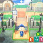 【あつ森】川の流れる住宅街を作ってみた。【あつまれ どうぶつの森】How to make a residential area Animal Crossing