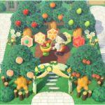 【あつ森】おしゃれな果樹園の作り方!ちっちゃめレイアウト【あつまれどうぶつの森/島クリエイター】