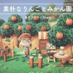 あつまれどうぶつの森|Animal Crossing New Horizons|田舎の素朴な果樹園作り|島整備|小さな果樹園作り|島クリエイター