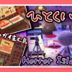 【あつ森島訪問】ホラー小説家が作った「ひとくい島」が怖すぎて半泣きしました…【あつまれどうぶつの森】【女性ゲーム実況者】【TAMAchan】