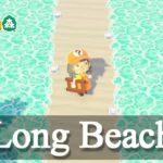 【島訪問】「カヤンゲル島」の映画のワンシーンに入り込んだかのようなロングビーチへ【あつ森】