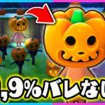 かぼちゃに変身してかくれんぼしたら絶対見つからないww【ハロウィン/かぼちゃ/かくれんぼ】【あつまれどうぶつの森/AnimalCrossing】