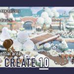 【あつ森】森の住宅街の作業動画part.2:DAILY CREATE10【島クリエイト Speed Build】