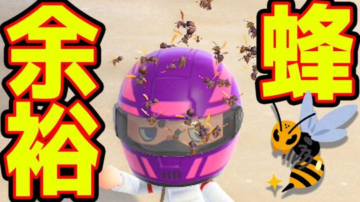 この装備なら蜂に刺されねぇだろ?【あつまれどうぶつの森】