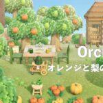 【あつ森】オレンジと梨の果樹園【島クリエイト】