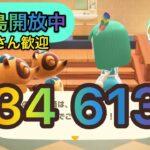【あつまれどうぶつの森】カブ価634ベルで開放中!