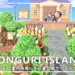 【あつ森】#12 案内所周りを可愛く島クリエイト / DONGURI ISLAND DIARY