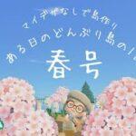【🌸あつ森】マイデザなしで作った島~ある日の1日~春号~【どんぶり島夢番地更新】