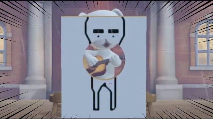 【あつ森】『誰!?』謎のアーティストりちゃけけのライブを実況する【あつまれどうぶつの森】【アナウンサー】【たいきち】【ちゃちゃまる】