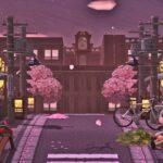【あつ森】プロデザイナーがマイデザをフル活用して手掛けた桜一色の和風島が異次元すぎる!【島紹介】