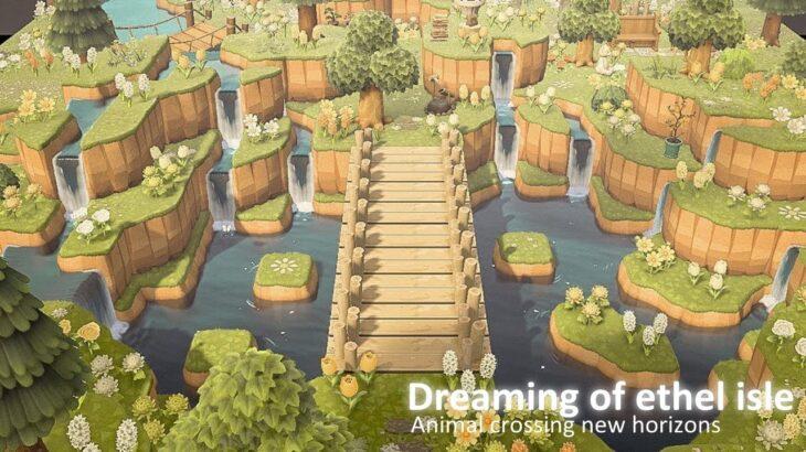【あつ森】島紹介 とても明るく自然豊かで可愛らしい島【あつまれどうぶつの森】ethel Isle 夢訪問