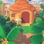 【あつ森】#9 極上のジャングルを目指してリアルタイム島作り!レインフォレス島をつくる!【島クリエイター】
