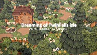 【あつ森】島紹介 深呼吸したくなる緑が深い自然豊かな島【あつまれどうぶつの森】TwinFalls Isle 夢訪問