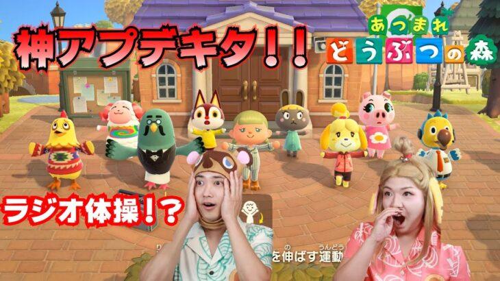 【海外の反応】あつまれ どうぶつの森の新アップデート情報を見た外国人の反応 Animal Crossing: New Horizons Direct mashup